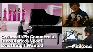 """Balisong   Cream Silk PH Commercial """"Everything I Wanted"""" Rico Blanco (KiKOMi Spoof Cover)"""