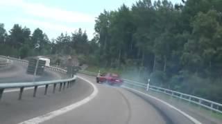 Düz Yolda Drift Yapmak   BMW Otoyol Yan Verme  İzlesene com Video