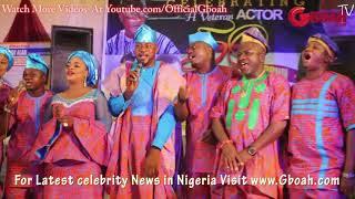 Afeez Owo, Sanyeri Afonja, Odunlade Adekola and Other Stars Sings Happy Birthday Song For Mr Paragon