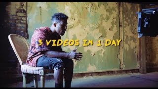 Futuristic - 3 Music Videos In 1 Day! (Behind The Scenes)