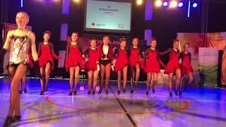 FORMACJA JUNIOREK Moulin Rouge