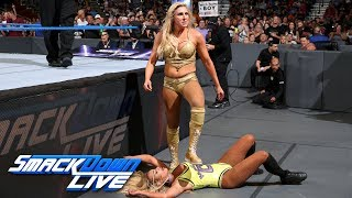 Carmella vs. Charlotte Flair - SummerSlam Title Match Opportunity: SmackDown LIVE, July 31, 2018