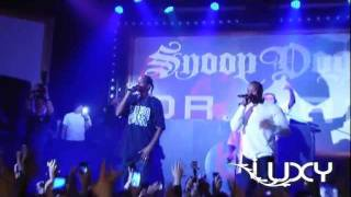"""Snoop Dogg & Dr Dre """"Nuthin But a G Thang"""" Live @ Luxy, Taipei, Taiwan, 12-01-2011 Pt.2"""