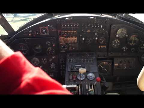 Antonov An-2 engine start procedure, Chayka Airport, Ukraine