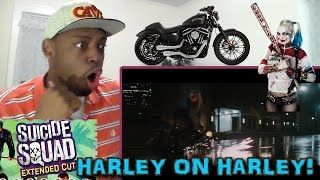 OMG!!! Harley Quinn Chases Joker | Suicide Squad | Extended cut REACTION!!!