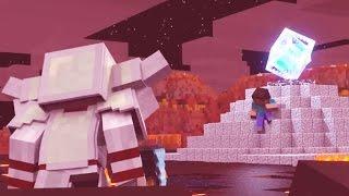 Minecraft - PARAÍSO -  DORÃN VS. HEROBRINE - A MELHOR BATALHA