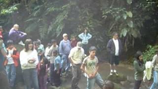 Rastros na Areia - Cachoeira Vila da Glória