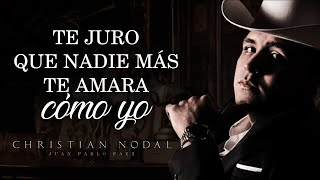 (LETRA) ¨MI ETERNO AMOR SECRETO¨ - Christian Nodal (Estudio) (Lyric Video)