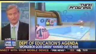 Fox And Friends: Spongebob Is 'Pushing A Global Warming Agenda'