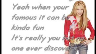 Hannah Montana - The best of both Worlds [w/Lyrics] HQ