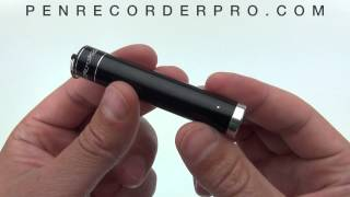 Small Voice Recorder Keychain Audio Recording Device - Demonstration