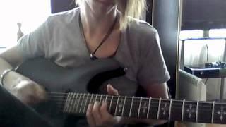 Blessthefall - Bottom feeder [Guitar Cover]