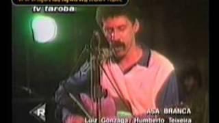 Gonzaguinha Imagens do Ultimo Show Cantando Asa Branca
