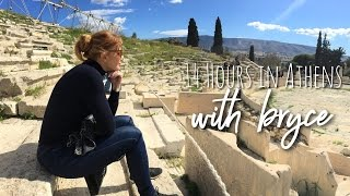 14 Hours in Athens with bryce dallas howard