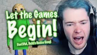 """LET THE GAMES BEGIN!"" (DanTDM, Baldi's Basics Remix) | Song by Endigo"