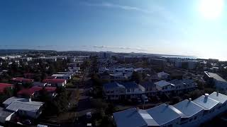 Drone Video Flying over Hafnafjord (Song) David Guetta -2U feat Justin Bieber)