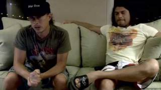 Metallica's Robert Trujillo and Kirk Hammet thanks for Save the Waves