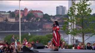 Seinabo Sey-Hard Time LIVE Allsång på Skansen 2014