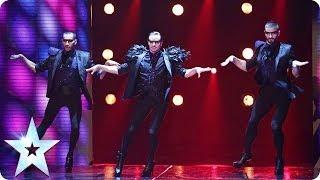 Well heeled dancers Yanis Marshall, Arnaud and Mehdi | Britain's Got Talent 2014