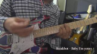 Breakbot - baby i'm yours / Guitar cover
