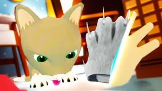 USING BENDY'S RITUAL TO BECOME THE CAT!!?! (Baby Hands VR HTC Vive)