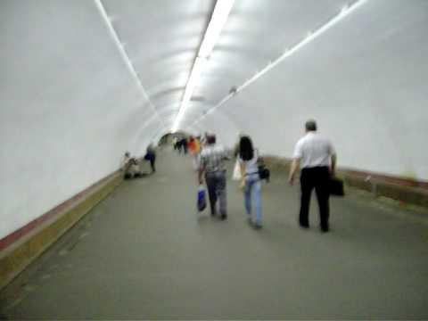Passageway at Kiev Metro