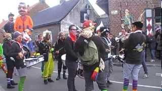 De Laatste Drop' au carnaval de Godewaersvelde