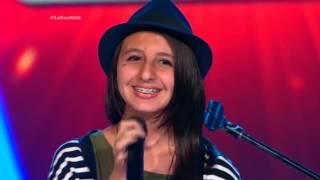 Salomé cantó Titanium de Sia, D. Guetta y Afrojack  - LVK Col – Audiciones a ciegas - Cap 19 – T2