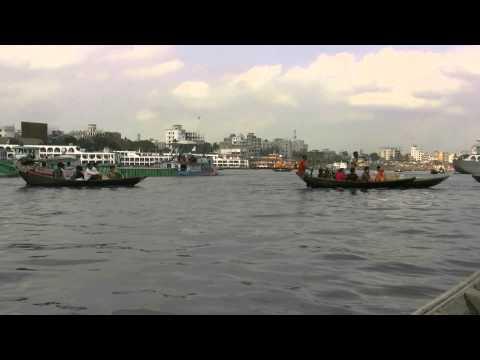 アキーラさんクルーズ!バングラデッシュ・ダッカのブリゴンガ川3!Dahka,Bangladesh