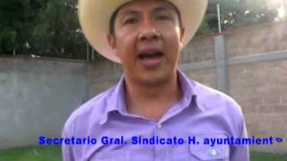 Sindicato del H Ayuntamiento de Yautepec