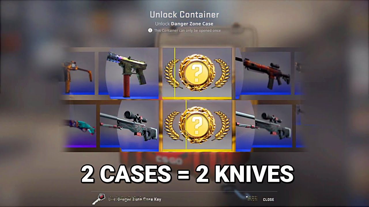 ChronoYinger - He unboxed 2 KNIVES in 20 SECONDS...