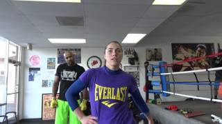 female boxer was happy ronda rousey lost just becuase ring magazine cover EsNews Boxing