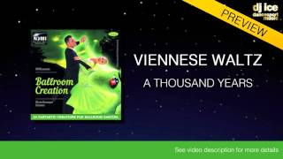 VIENNESE WALTZ | Dj Ice - A Thousand Years (59 BPM)