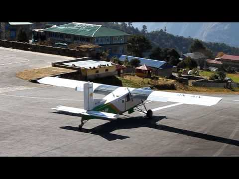 Take-off at Lukla Airport [HD 720p @ Canon EOS 500D]