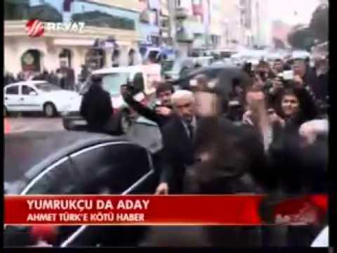 ahmet türk'e yumruk atan ismail çelik milletvekili adayı