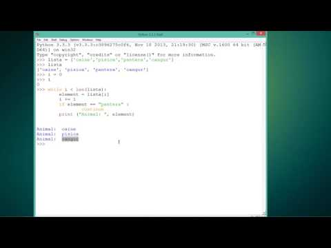 Tutoriale Video Python despre instructiunea continue nr. 29