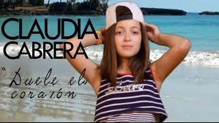 Enrique Iglesias - DUELE EL CORAZON (Cover By Claudia Cabrera)