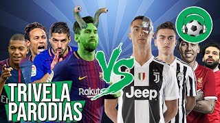 ♫ Neymar | Mbappé | Messi | Suarez | CR7 | Dybala | Firmino | Salah - Paródia Só Para Castigar - WS