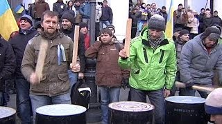Thousands of Ukrainians continue protests against government - no comment