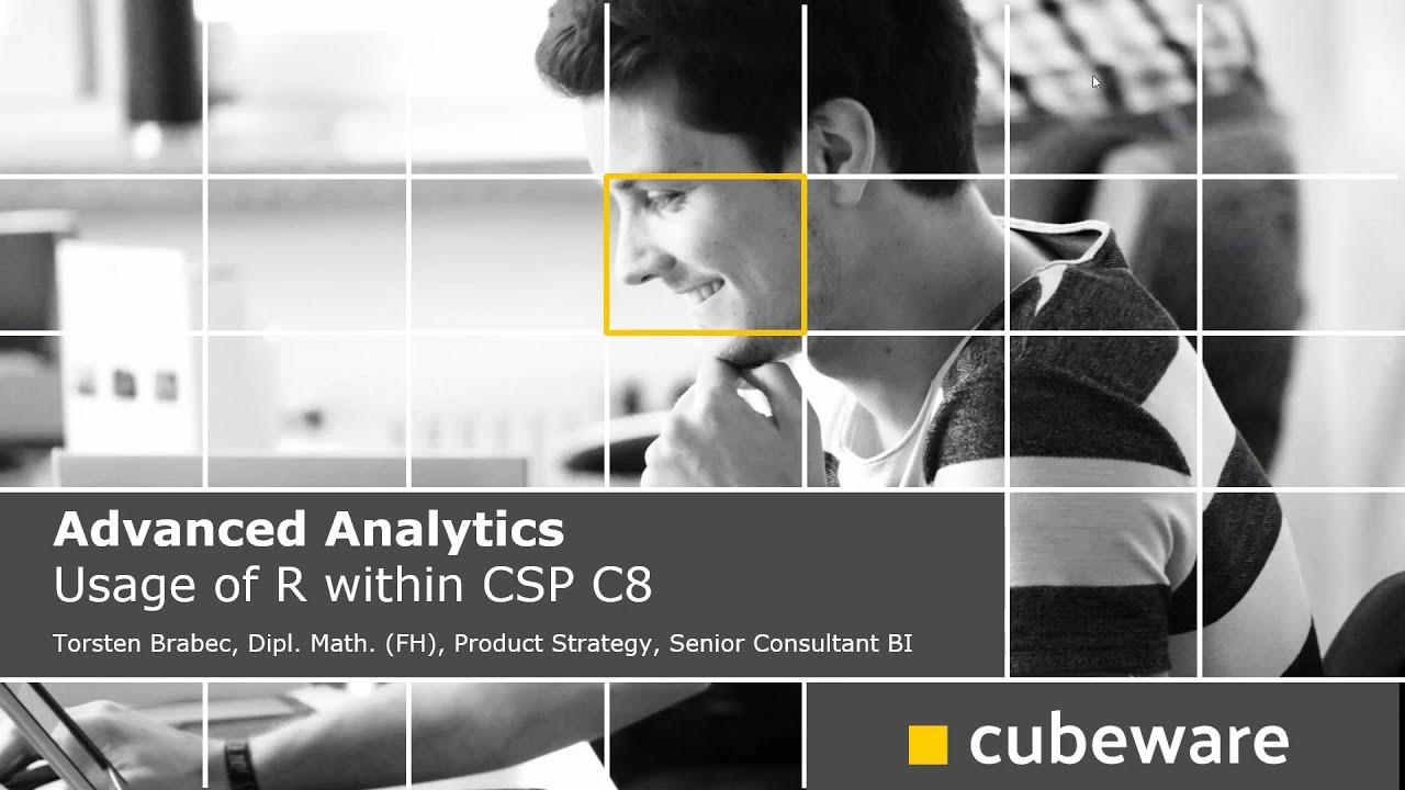 Advanced Analytics – Verwendung von R in Cubeware Solutions Platform