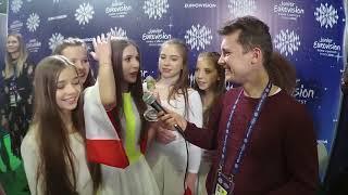 Eurowizja Junior 2018: Roksana Węgiel w pierwszym wywiadzie po wygranej!