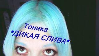 ТОНИКА. ДИКАЯ СЛИВА. Голубые волосы. Советы для чайников вещает баба АнастасиЗ