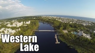 Western lake fly over FPV ZII