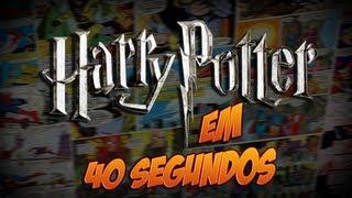 Harry Potter e a Pedra Filosofal em 40 segundos