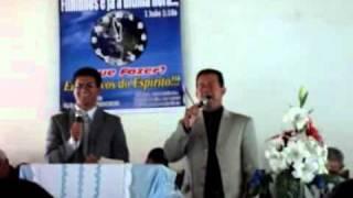 O Bom Samaritano Carlos Alexandre e Pastor Clésio.