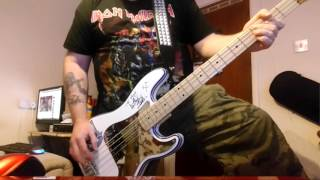 Iron Maiden - The Trooper (Live) - Bass Cover
