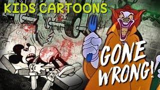 KIDS CARTOONS GONE WRONG! (5 Terrifying Childrens Animations)
