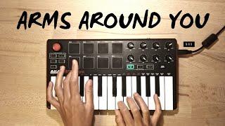 Arms Around You - XXXTENTACION & Lil Pump | Cover (Akai Mpk Mini Mk2)
