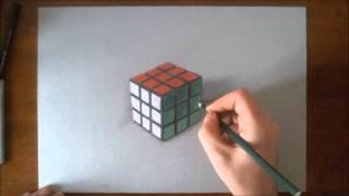 How i draw Rubik's cube in 3D
