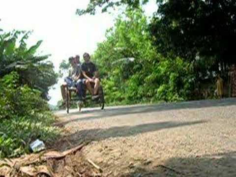 Bangladesh – Ride on a Richshaw Van in Mymensingh